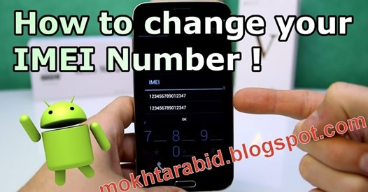 Tutorial How To Change IMEI Number