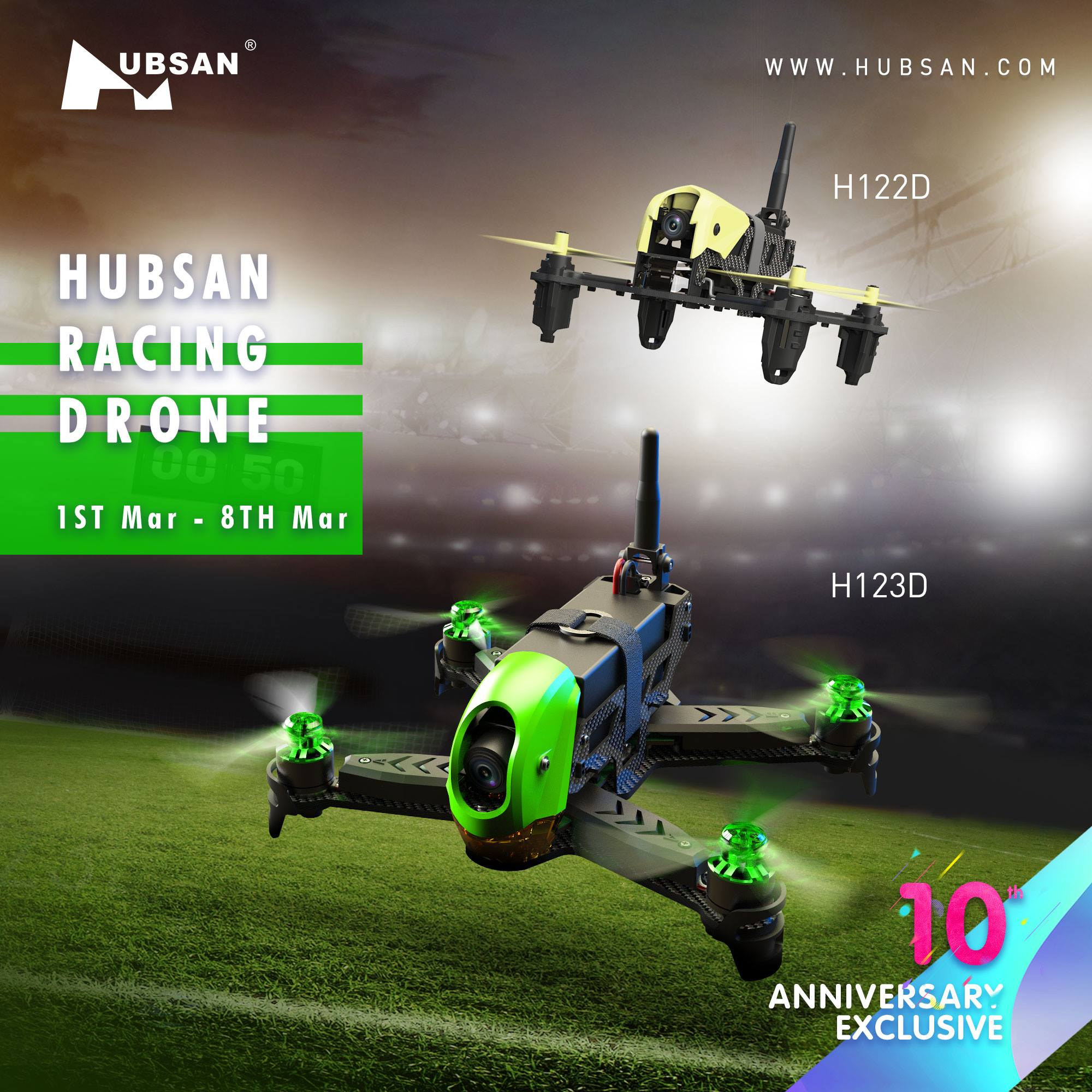 Hubsan Affordable Racing Drone-H122D ,H123D