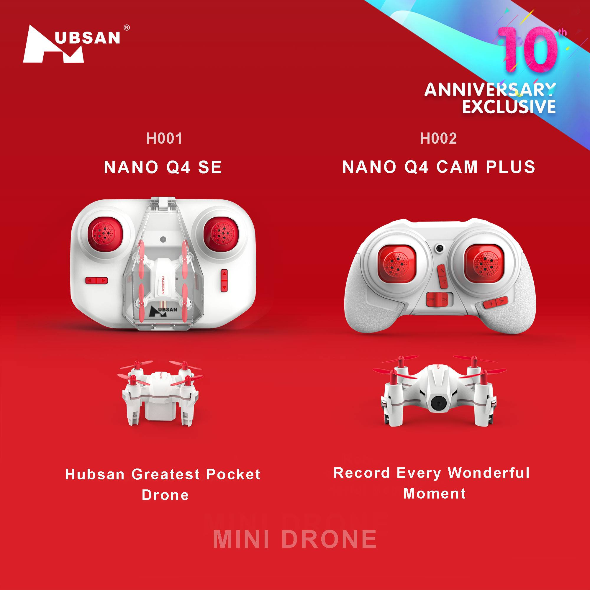 Hubsan Greatest Pocket Drone