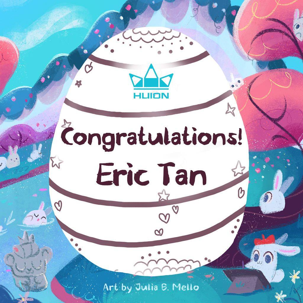Congratulations to Eric Tan! You have won a HS610 tablet!
