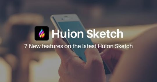 7 NEW features on the latest Huion Sketch update!