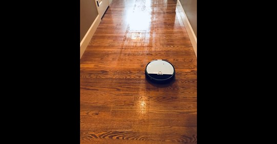 Check out what a mom said about ILIFE V8s 2-in-1 Mopping Robot Vacuum.
