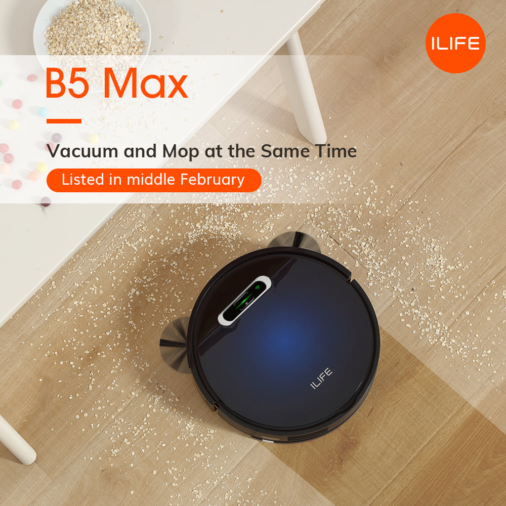 ILIFE B5 Max - vacuum and mop at the same time.