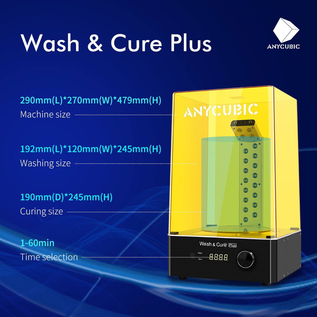 Here is more detailed parameter information about Wash & Cure Plus.🤗😃😁😍😎👀📣