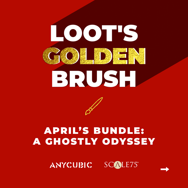 We have sponsored Loot's Golden Brush Painting Contest. Don't forget to join the competition, and you will have a chance to win Photon Mono and resins.🏆🎁📣💗🎇🎆 Click here to know more: