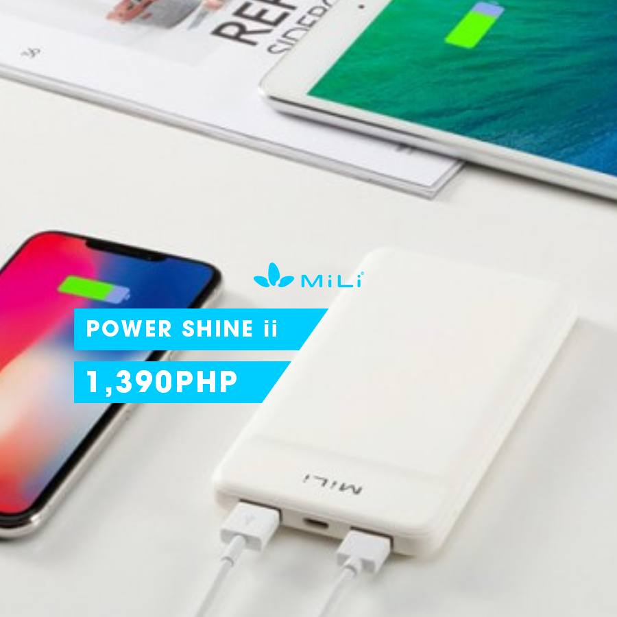 SHINE ON with the Mili Power Shine ii! A lot of extra energy at a very affordable price (and a really good design too) -- looks good, works best! Yours for less than what you'd normally pay for! SHOP IT WHERE YOU WANT IT: 🌎 --> yourwshop.com