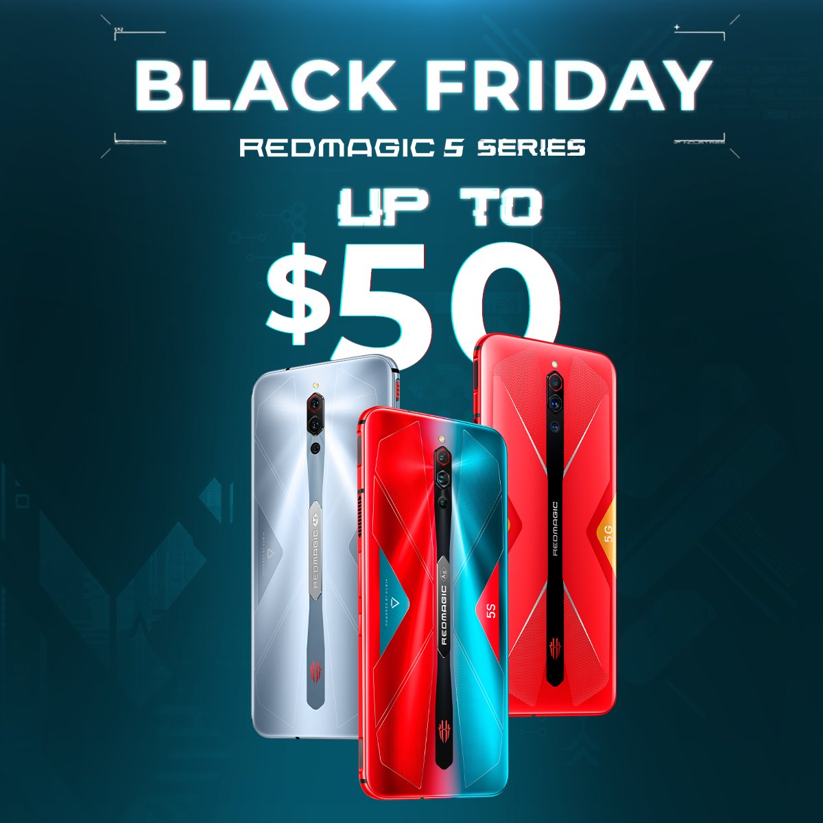 Black Friday has come early this year for RedMagic!
