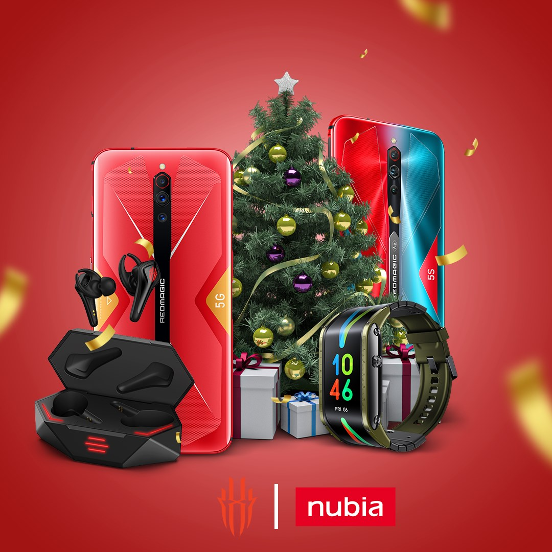 Time is running out to ensure that your nubia goodies arrive before Christmas morning. Be quick and get yourself or a friend something awesome and innovative this Christmas. For innovative nubia gifts: www.tomtop.com