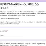 #OUKITEL's next generation 5G Phones will be launched in the 4th quarter🎉 Help us to know your choice, because your choice matters😍