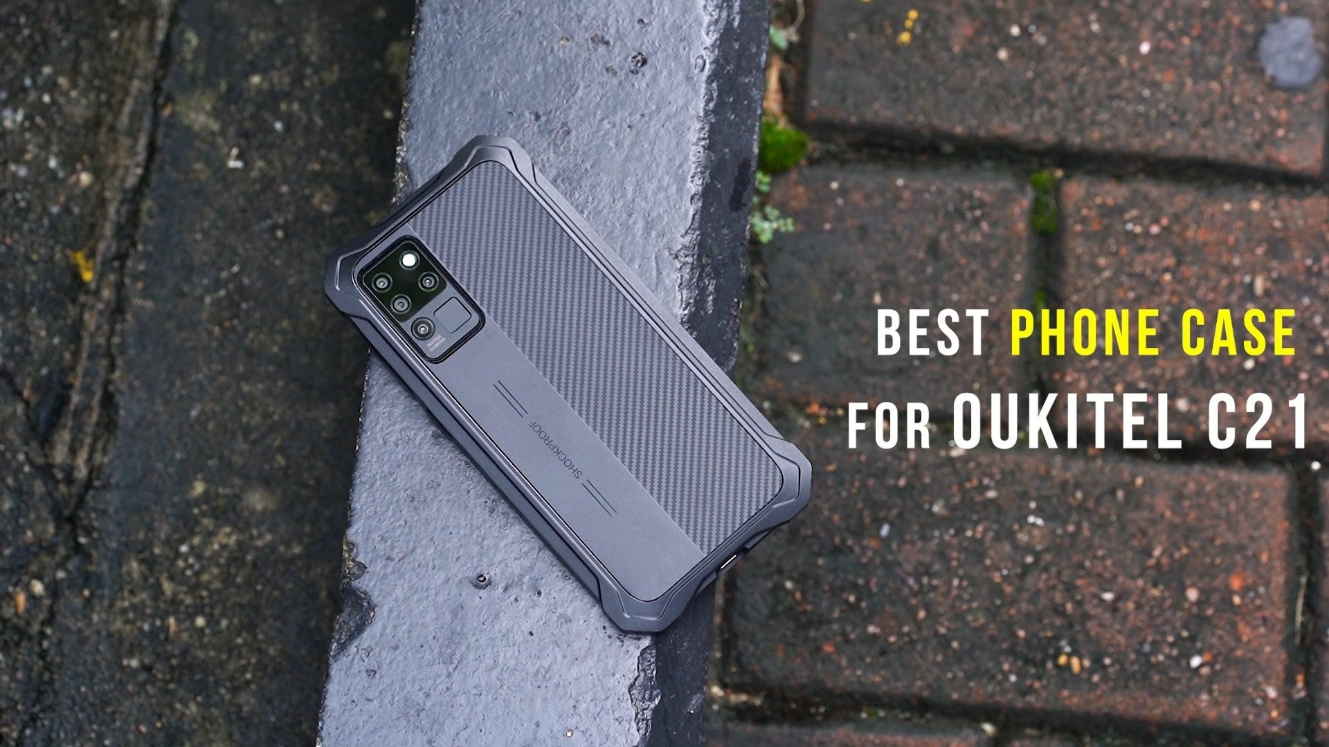 Introducing the best matching stylish phone case for the best budget phone #OukitelC21📣📣
