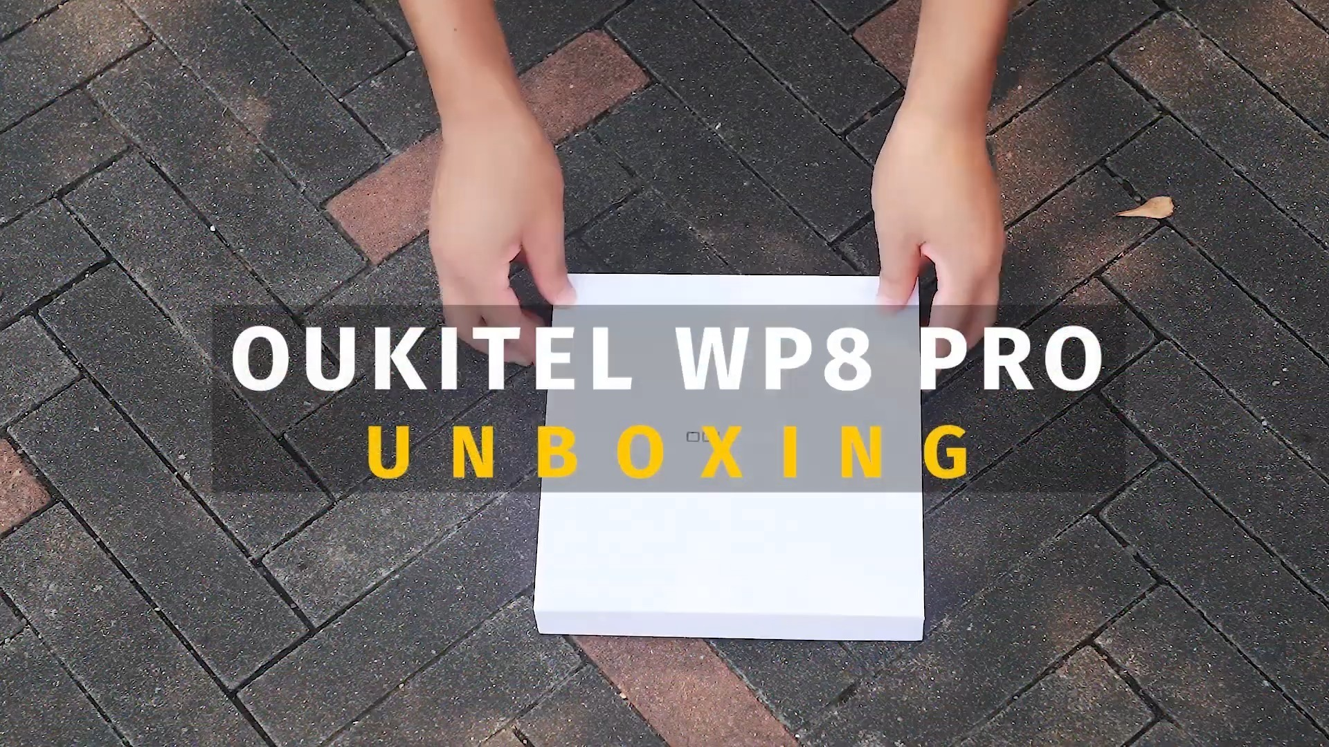 Unboxing the all new #SportsPhone #OUKITEL #WP8Pro🔥