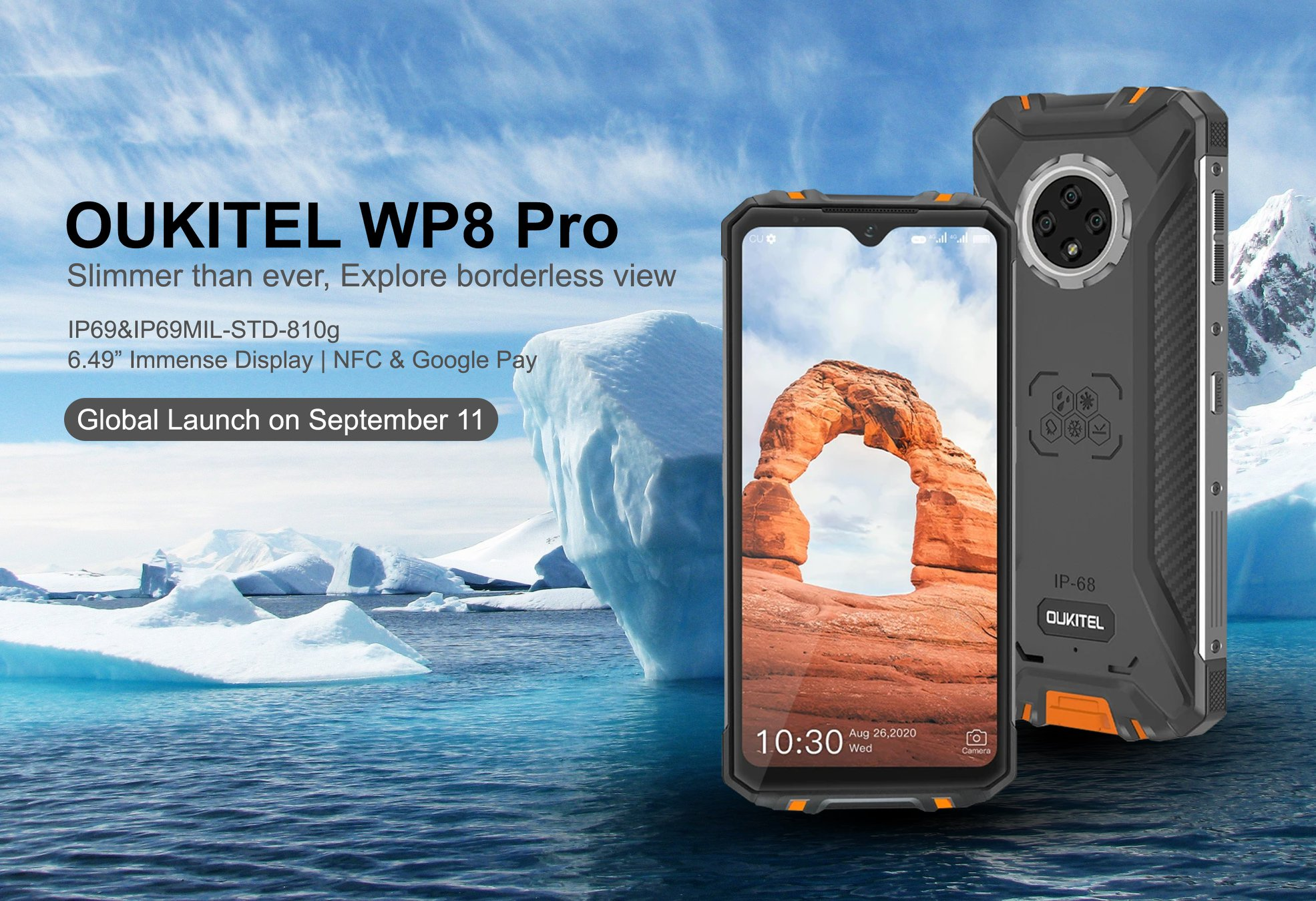 Meet #OUKITEL #WP8Pro on September 11!🥳🥳🥳