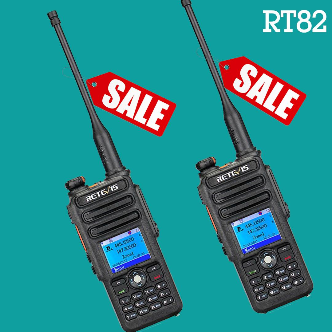 Retevis #RT82 DMR dual band Radio
