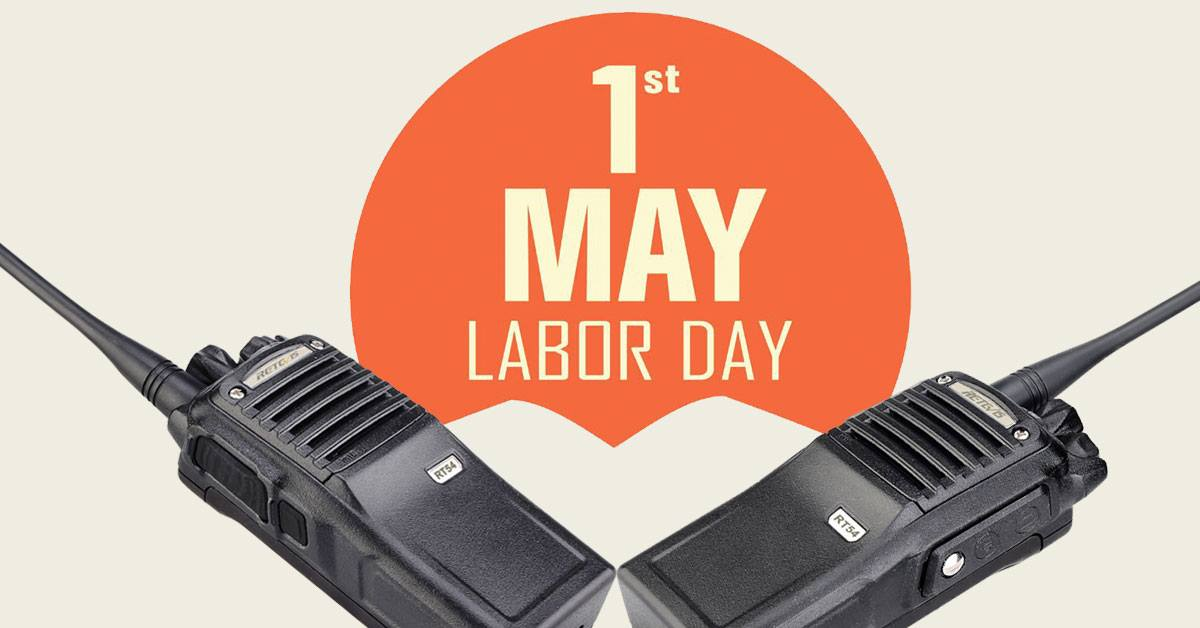 Will you use Retevis Radios on this Labor Day?