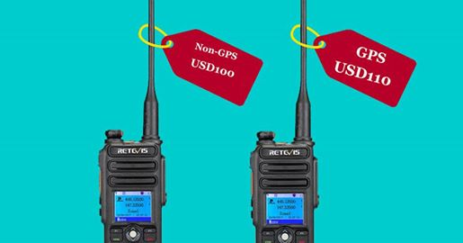 Retevis RT82, The Dual Band IP67 DMR Amateur radio.
