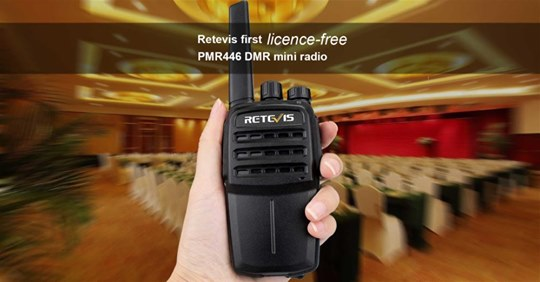 The first License-free DMR radio #Retevis #RT40