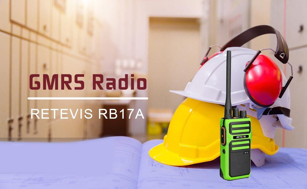 Retevis GMRS radio RB17A has many good features: