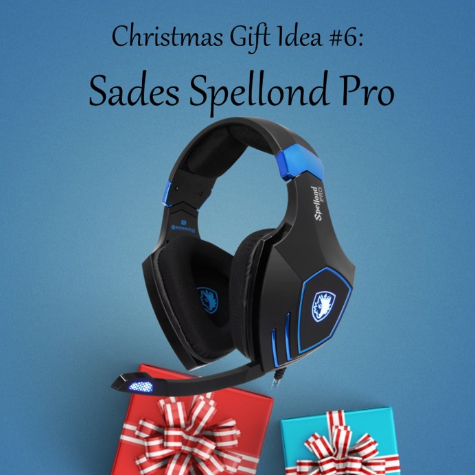 Christmas Gift Idea #6: Sades Spellond Pro We all have that one friend who loves action the most! Surely our Spellond Pro's sound and vibration will bring him the most on his in-game adventures! Get the #SadesSpellondPro here:...