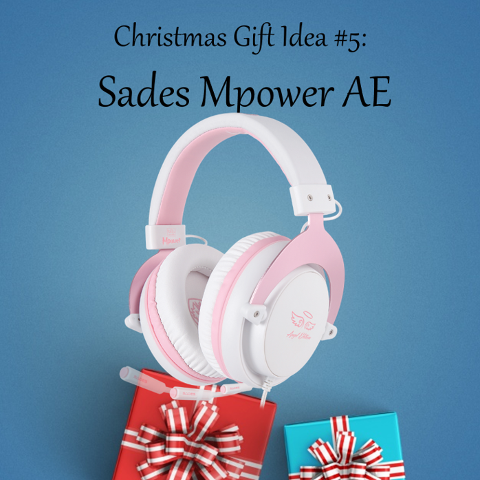 Christmas Gift Idea #5: Sades Mpower Angel Edition Aside from the Mpower's great sound and comfort, your pink lover friend will love its very pleasing aesthetics value the most! Get the #SadesMpower here:...