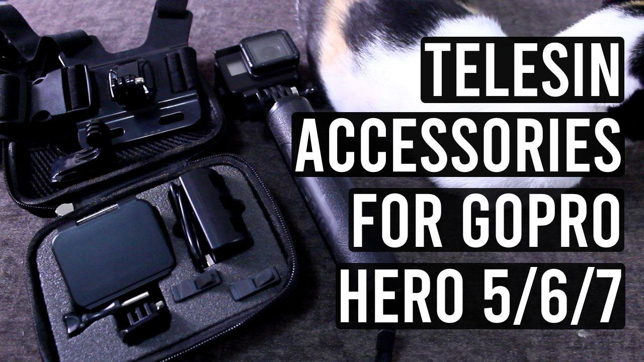 Telesin accessories for your Gopro Hero camera!