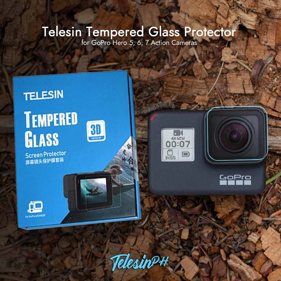 Trust only the best Telesin Tempered Glass in the market 💯