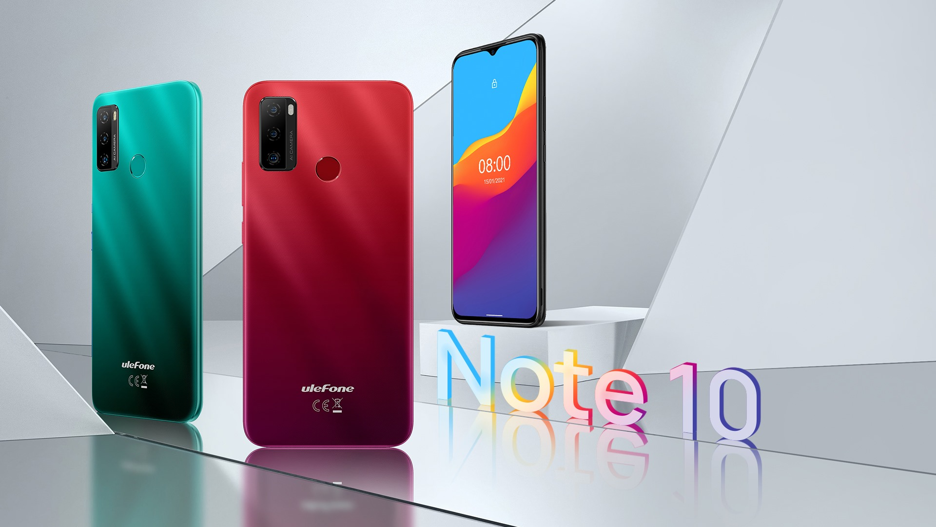 We added a new member to the Note series, named as Ulefone Note 10.