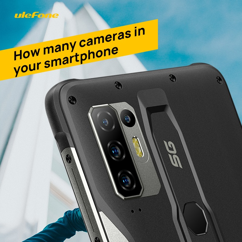 15 years ago, having a camera in a phone was the exception rather than the rule. Today they add several modules to smartphones for high-quality photo and video shooting. How many cameras in your smartphone now? Write your answers in the comments 👇 P.S. The front camera is not included....