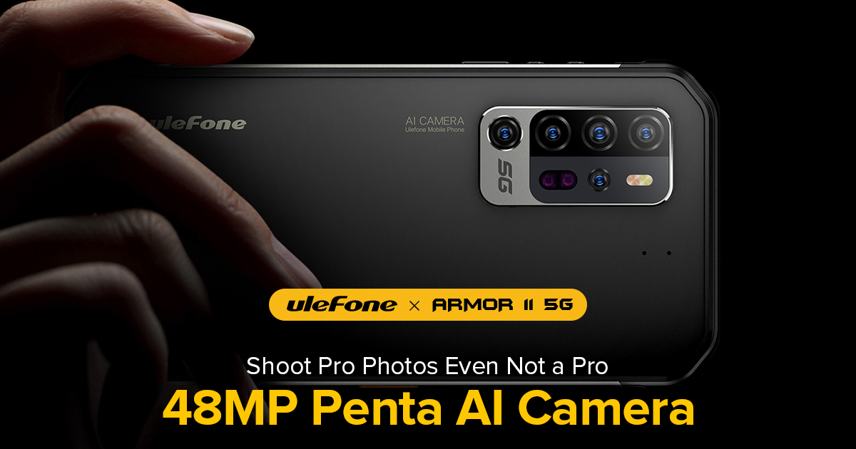 Shoot Pro Photos Even Not a Pro - 48MP Penta AI Camera