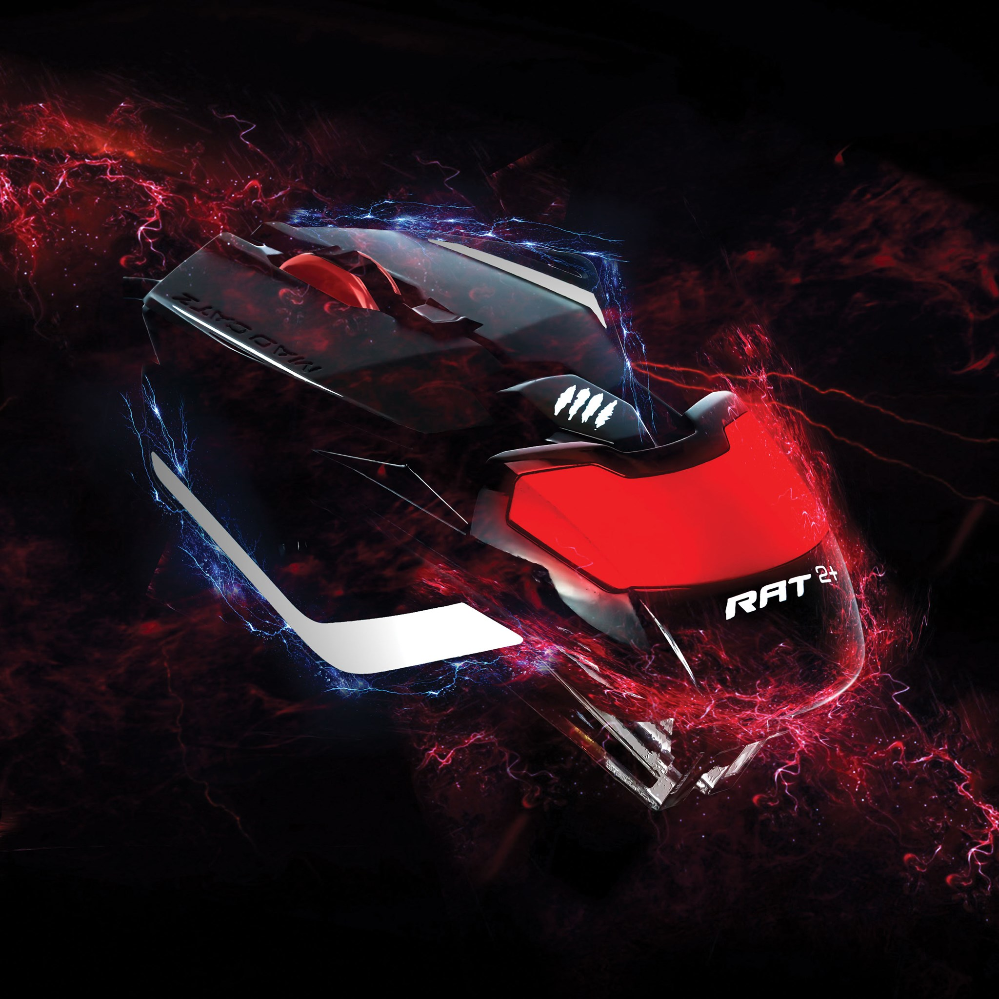 Upgrade your gaming with the Mad Catz R.A.T. 2+ Optical Gaming Mouse. Featuring multi-button functionality and a super lightweight design, the R.A.T. 2+ has the features you need and won't slow you down. #MadCatz
