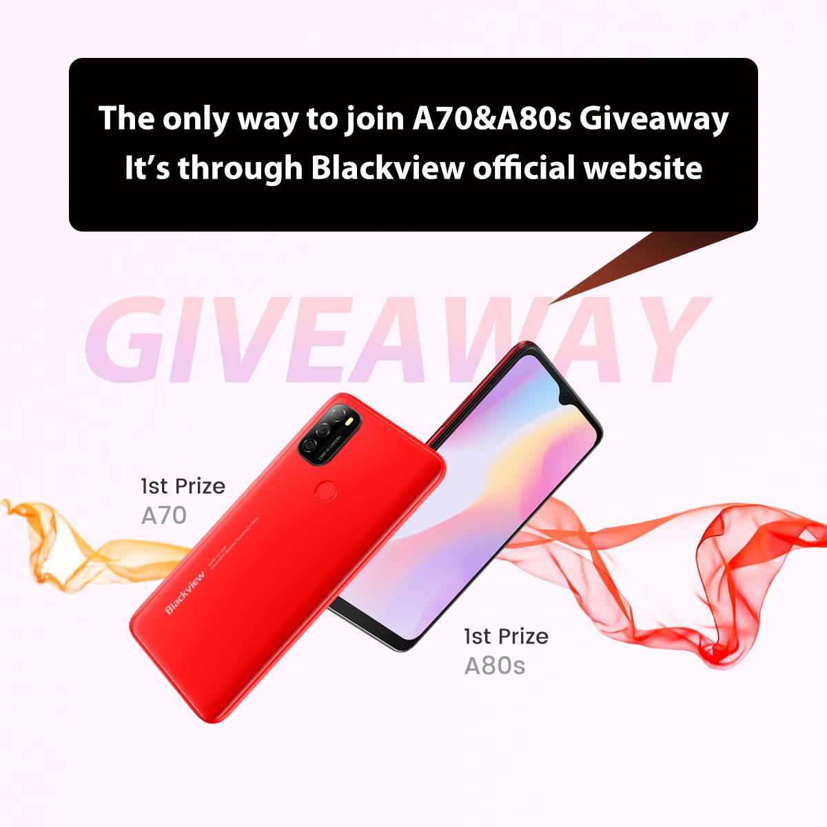 #Blackview community, a few fans reported a fake #A70 #Giveaway website to us.