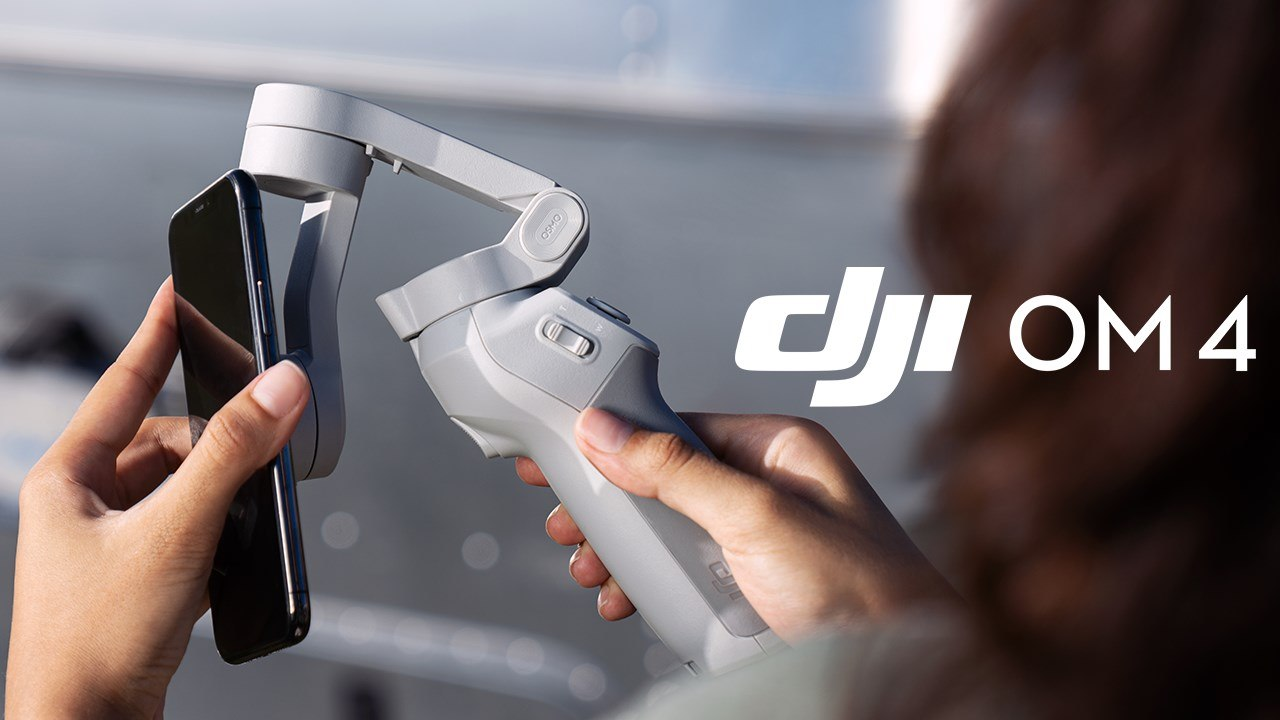 Meet DJI OM 4, a smartphone stabilizer that is the ultimate solution for sharing your world.