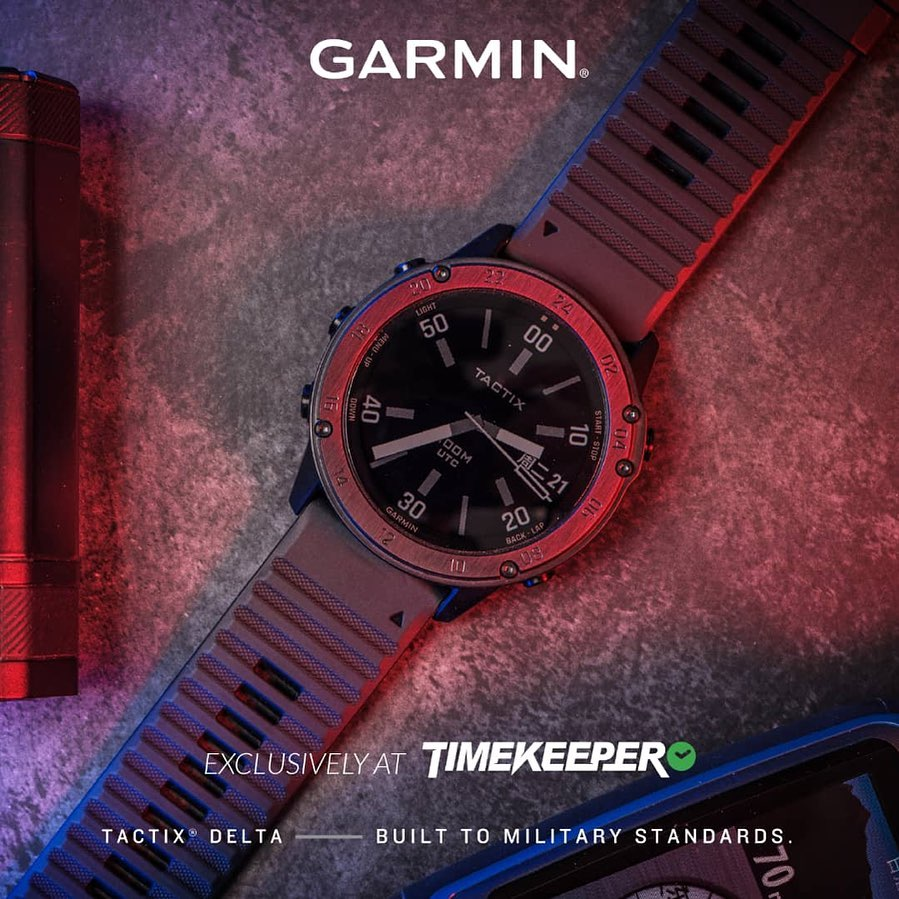 Get your hands on Garmin Tactix Delta exclusively at @timekeeper_official