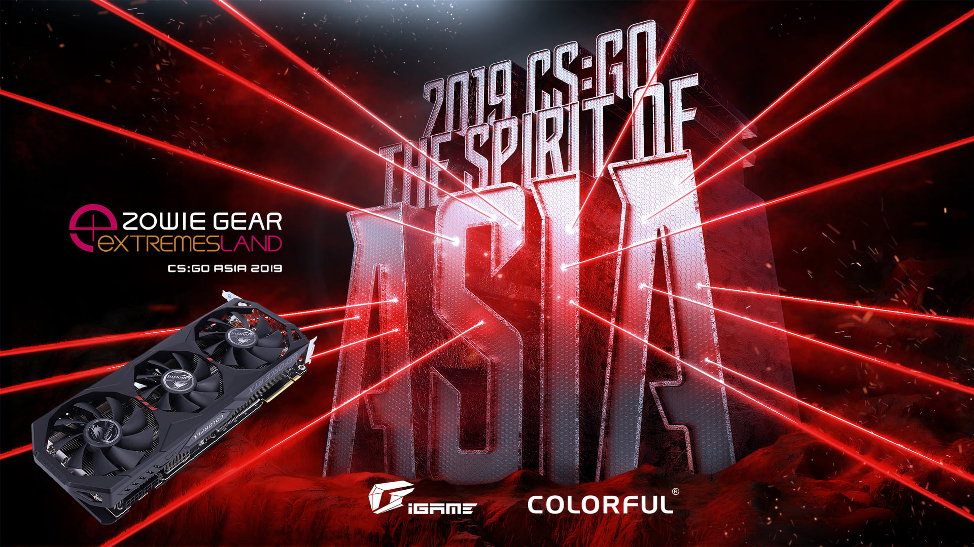 We are honored to sponsor GeForce RTX 2070 SUPER for #CSGOASIA2019! Let's watch the battle for championship this weekend(23rd &24th Nov.). You looking forward to it?