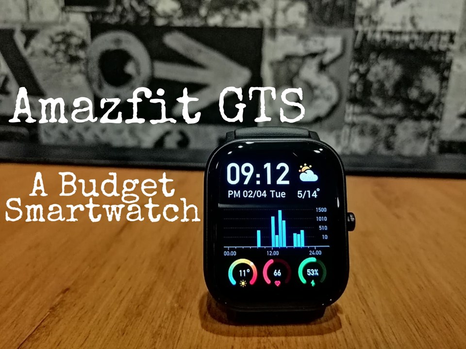 The perfect combo of good looks and high-end features, the #Amazfit GTS #smartwatch offers a long #battery life, 12 sport-modes, built-in GPS, heart-rate monitoring, sleep tracking and much more.  Get yours today -  bit.ly/2SKXr6y