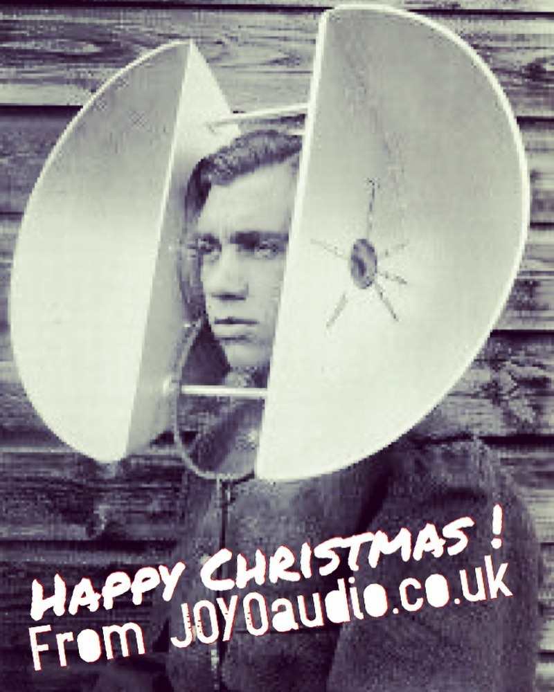 Happy Christmas from all at @joyoaudiouk listen up 'tis the season to be JOYO!