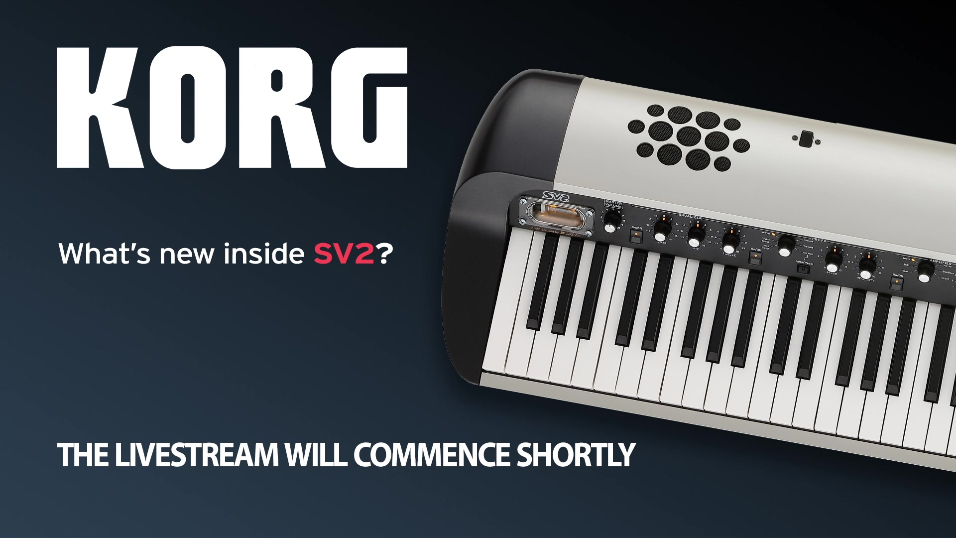 Tonight, we're looking at our flagship Stage Piano, the SV2.