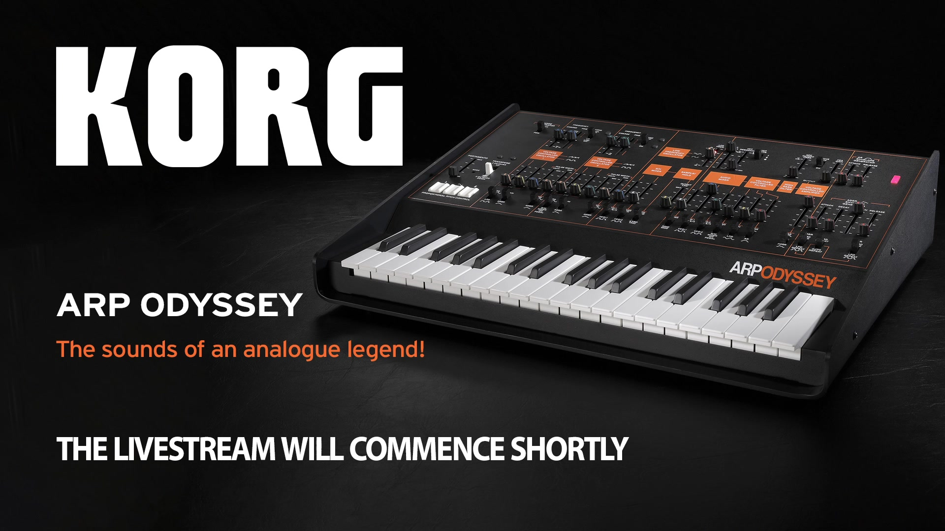 This time we're looking at KORG's faithful reincarnation of a classic analogue synthesizer, the ARP ODYSSEY.
