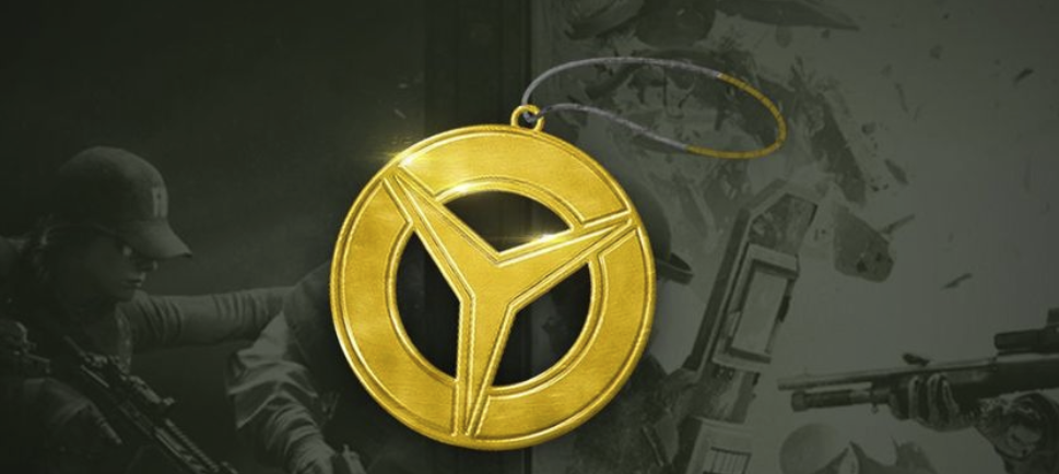 Win a Limited Edition Tom Clancy's Rainbow Six® Siege's Legendary Gold Charm!