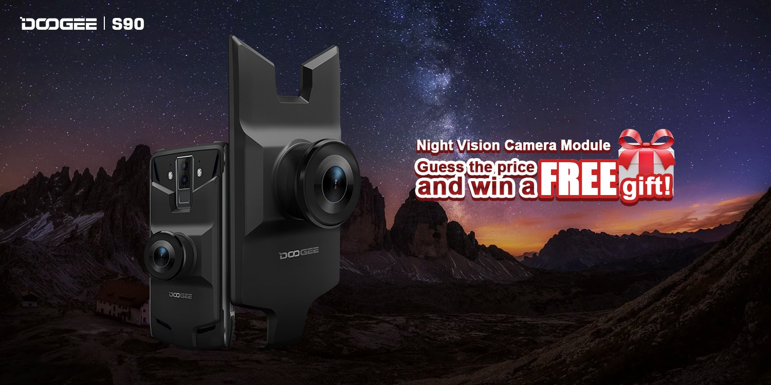 Giveaway here! Guess the price to win a night vision camera module!