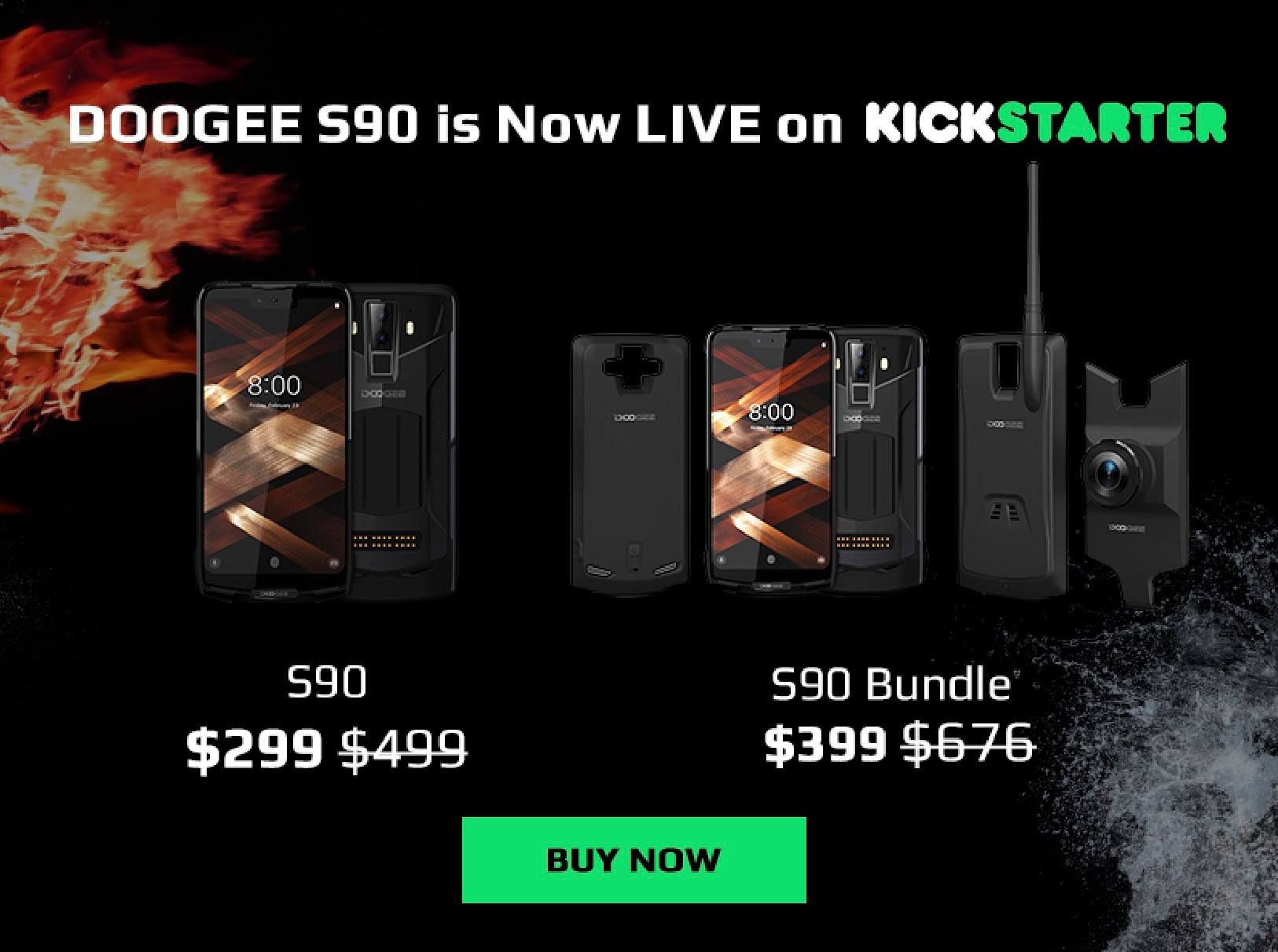 📣📣Hey guys, we are happy to announce the Most Versatile Unbreakable Smartphone--#doogees90 on #kickstater at 😍299USD.
