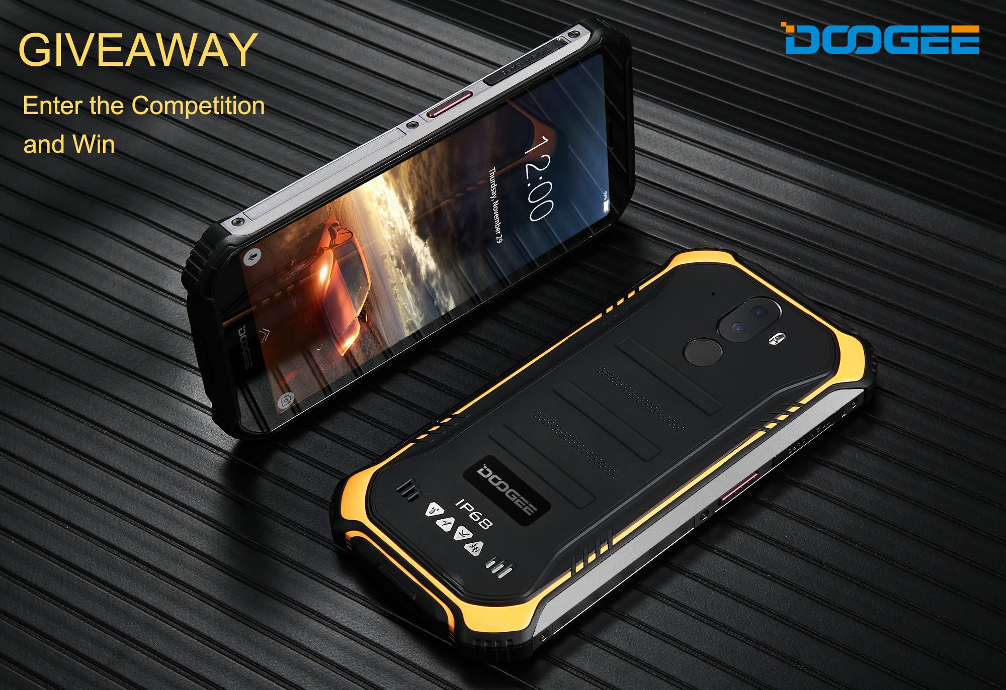 #giveaway Enter the competition to win the FREE rugged phone S40!👏👏😜 Winner will be randomly chosen by Gleam widget #gleam #doogee #ruggedphone #s40