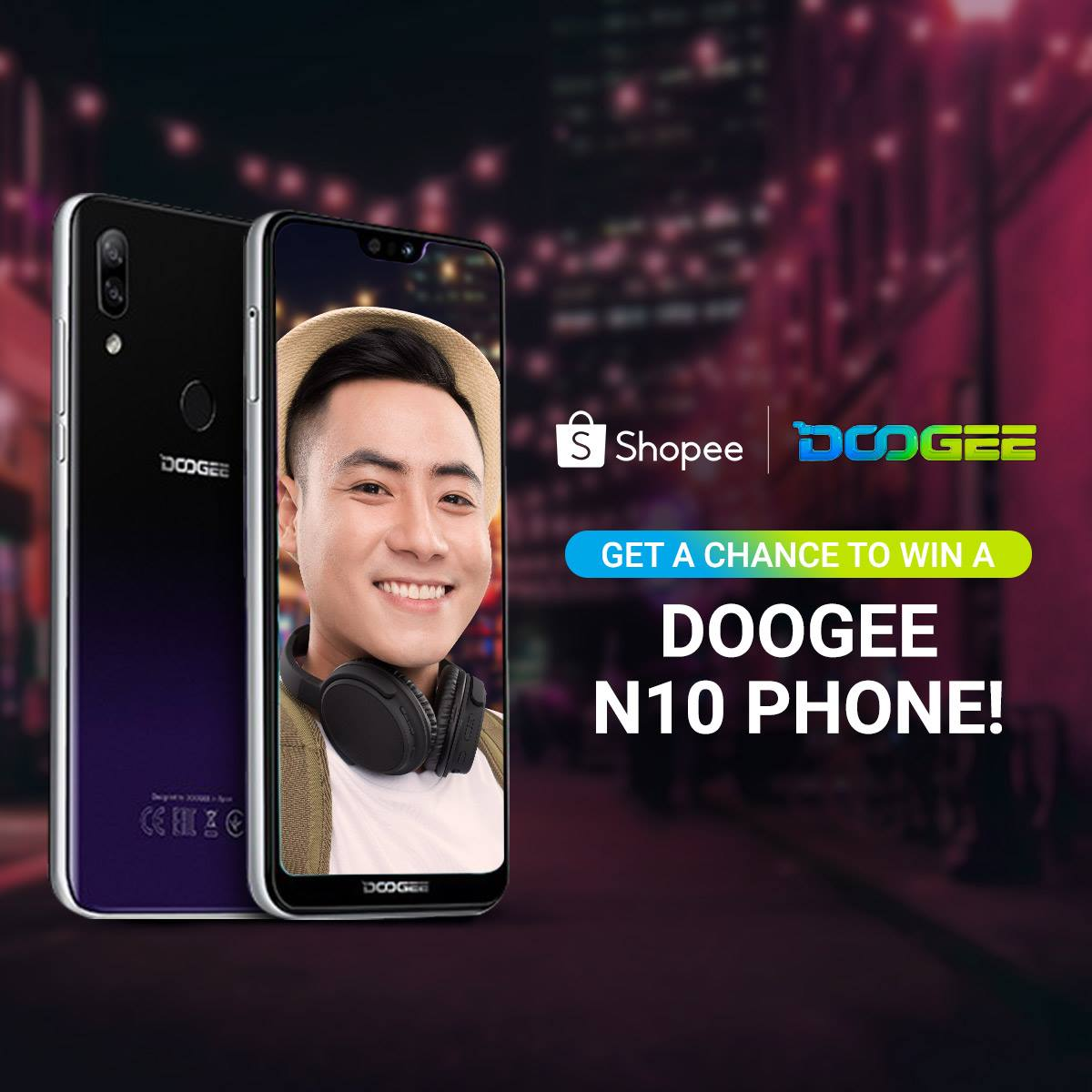 Come and join #Doogee #Shopee #Giveaway  😍