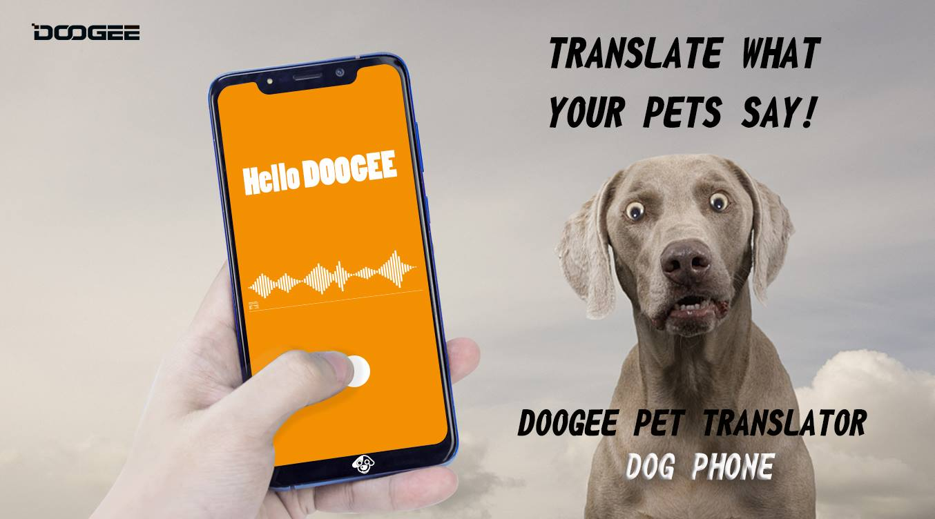 Official News: #Doogee is about to launch the world's first animal translation mobile phone!