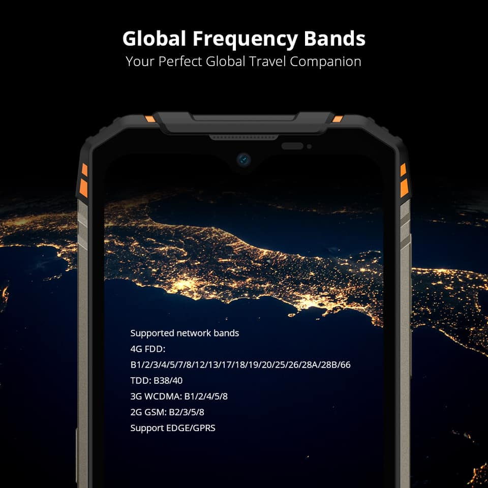 🌍With global frequency bands supported, the 📲📲📲#DOOGEE S96_Pro becomes a true global phone, 🤗which means you can use global areas over the world.😍😍😍 🔥🔥🔥Global sale at only 💰$239.99 on 11th November🗓