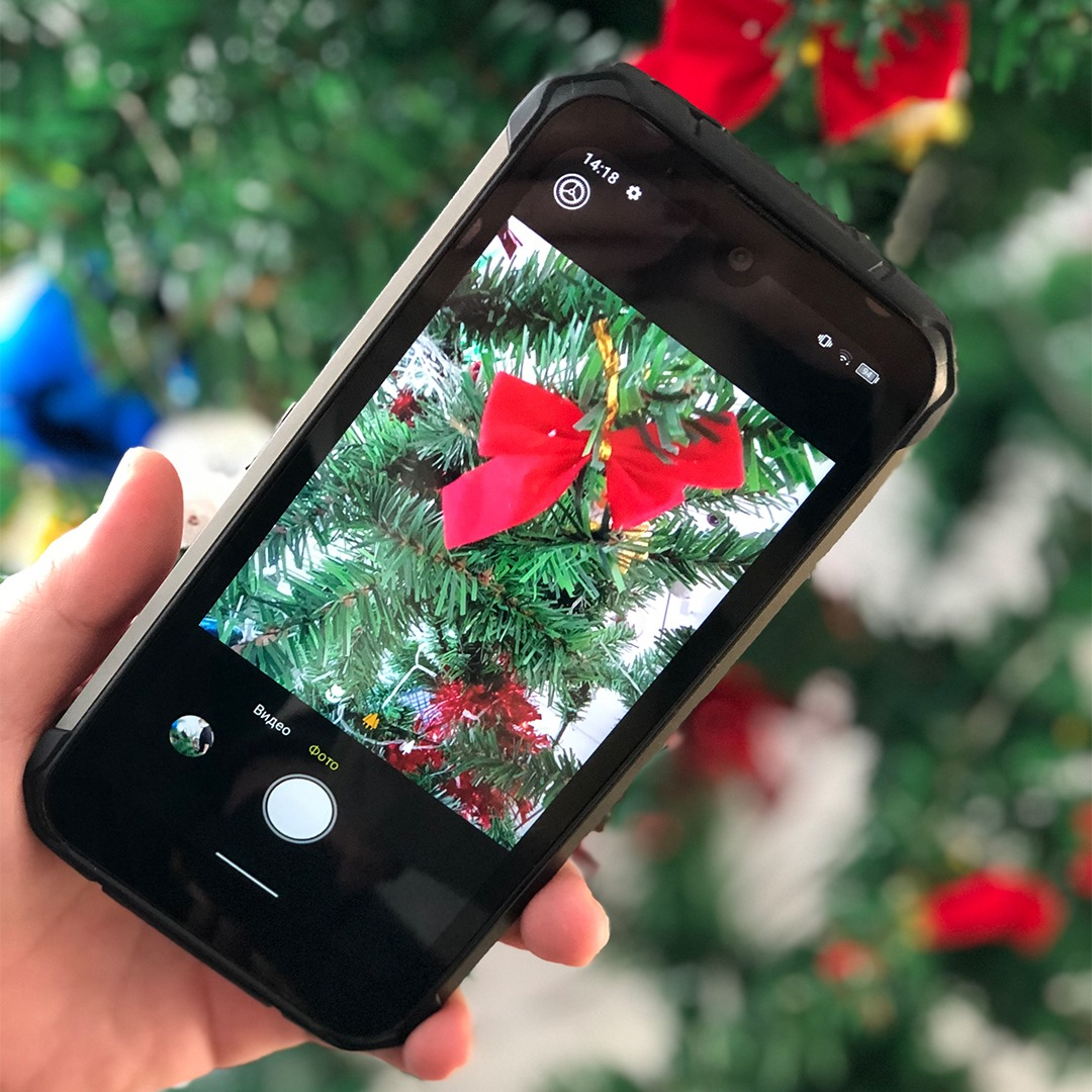 Record the beauty of Christmas with the new #DOOGEE_S59PRO Get one coupon here  www.tomtop.com