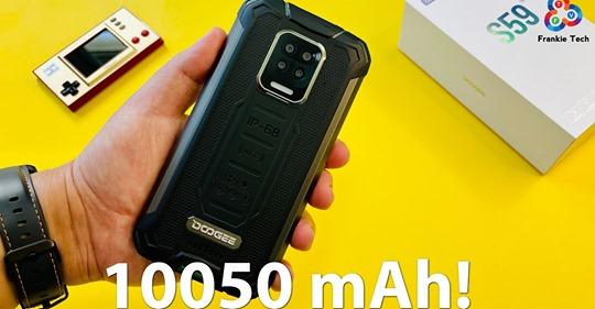 📱Our first open box video of #DOOGEE_S59_PRO!