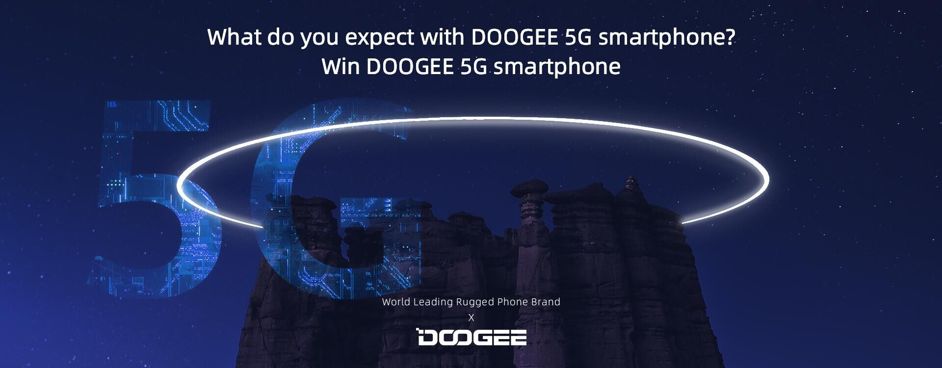 #5G #DOOGEE Guys I have a good news, we're about to prepare the #5GPhone Do you like it?