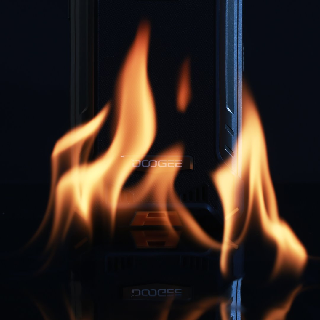 Rugged phone should withstand the flames #DOOGEES86