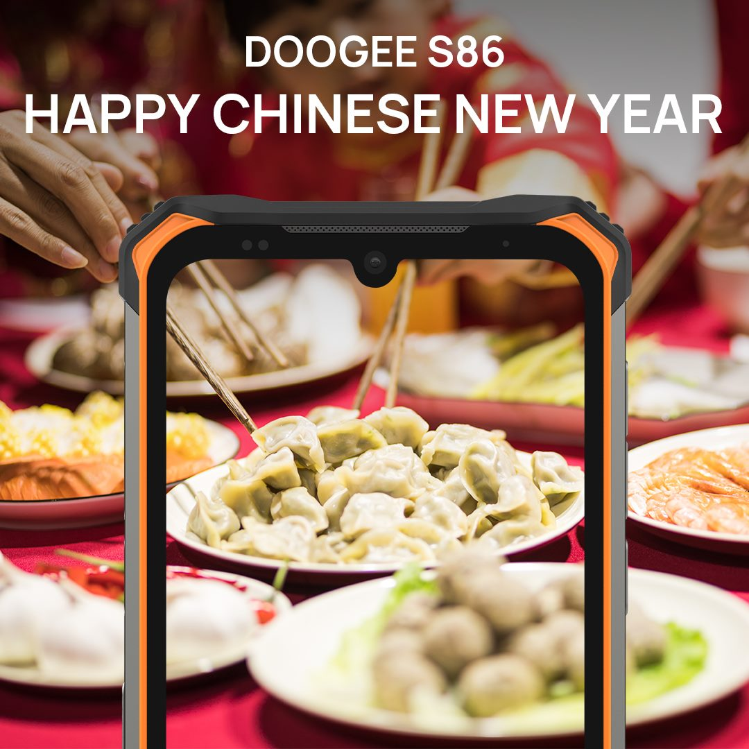 DOOGEE wishes a Happy Chinese New Year (CNY) to everyone.