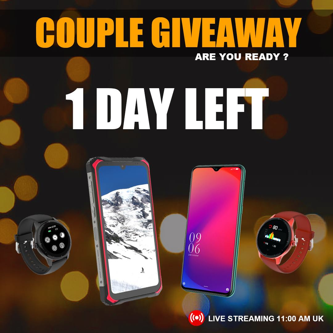 🎁Last chance to participate on Couple Giveaway.👩‍❤️‍💋‍👨